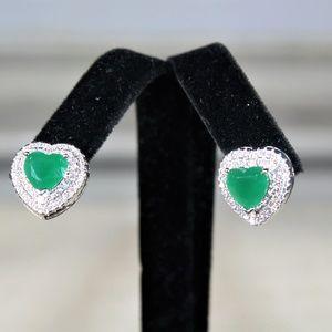 Hala M Jewelry, Emerald stud earrings
